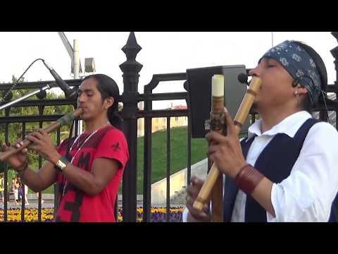 Ecuador Spirit& Jhordan ~ HERMOSO RIO HUAYCHEÑO. Весело о несчастной любви. Москва 18.08.2017