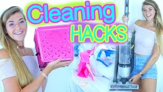 How To Clean Your Room! Life Hacks & Organization Tips!
