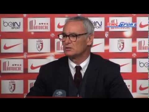 Foot / Ligue 1 / Lille-Monaco / Ranieri :