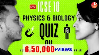 Physics & Biology LIVE MCQ QUIZ | Electricity, Magnetism, Human Anatomy & Physiology1 | Vedantu