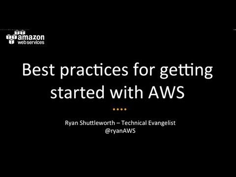 Journey Through the Cloud Webinar | Best Practices for Getting Started in the AWS Cloud