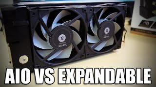 AIO vs Expandable Watercooling Units