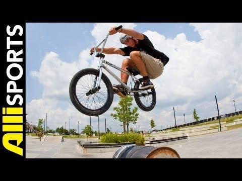 How To Bunnyhop. Broc Raiford. Alli Sports BMX Step By Step Trick Tips