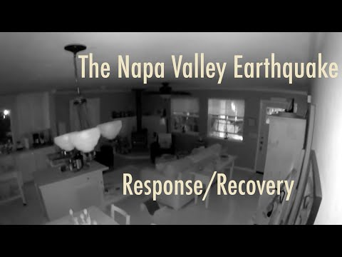 Napa Earthquake Series - Response/Recovery