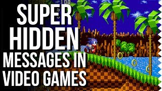 Super Hidden Messages In Video Games - Easter Egg Hunter