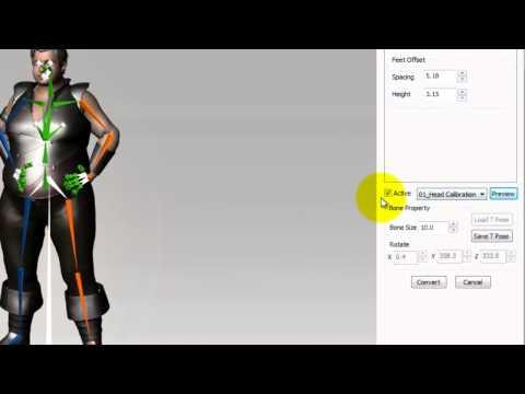 3DXchange5 Tutorial – Importing Daz Genesis Characters to iClone
