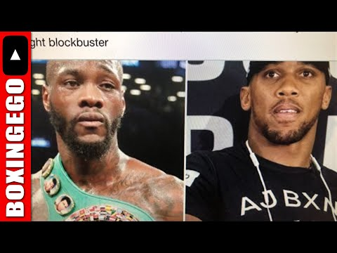Live Chat: Wilder willing to take 40% for Joshua right, Hearn says 80% Chance next, crawford injured