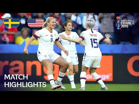 Sweden v USA - FIFA Womenвs World Cup France 2019в