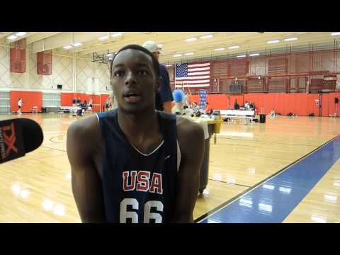 Jerami Grant Interview at USA Basketball U19 World Championship Tryouts