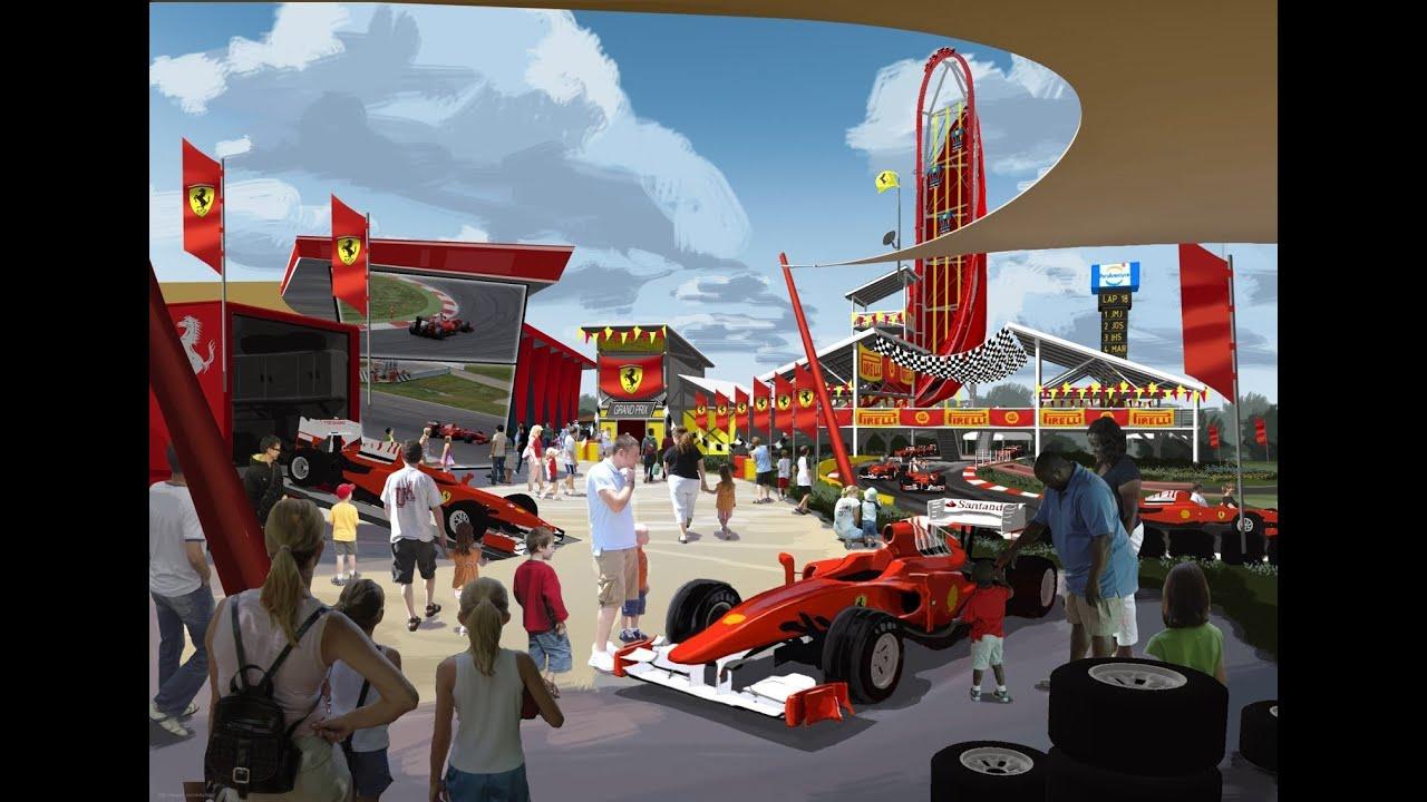 Ferrari Theme Park Spain Spain Theme Park News 8