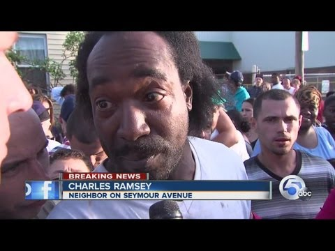 11pm: Charles Ramsey describes finding missing women