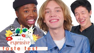 The 'Looking for Alaska' Cast Struggles through This Whole Video | Expensive Taste Test | Cosmo