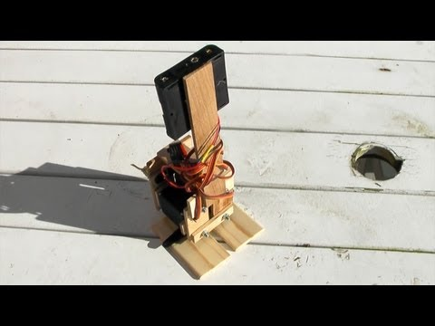 3-Servo Walking Robot - The Latest in Hobby Robotics