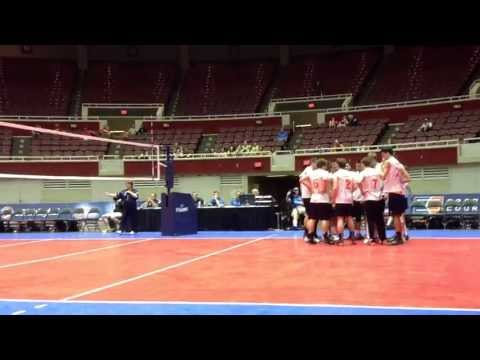 2013 Men's Club DIII Volleyball National Championship Game - Illinois vs. Arizona - Game 3