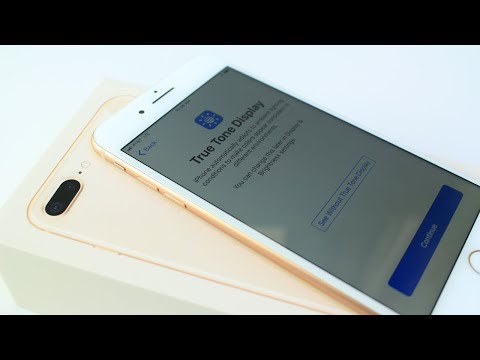 iPhone 8 Plus Gold Unboxing it's REALLY NICE ;)