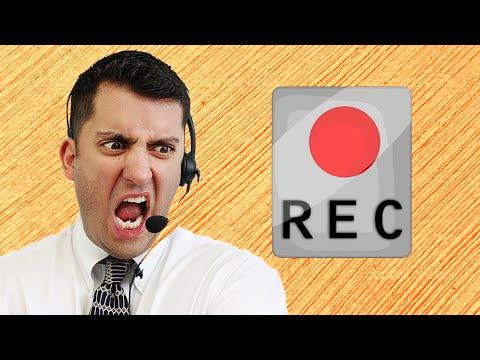 Recording Customer Service Phone Calls?