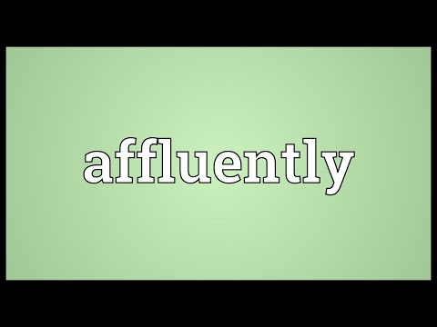 Header of affluently