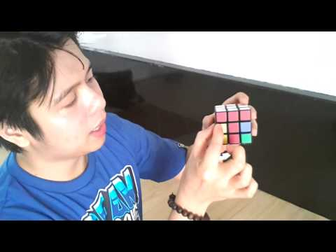 How to solve Rubiks cube Tagalog version