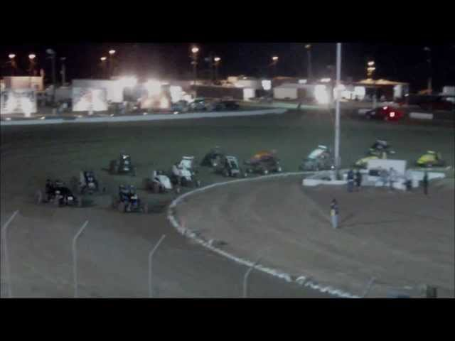Double Flipping Sprint Cars 5/27/12