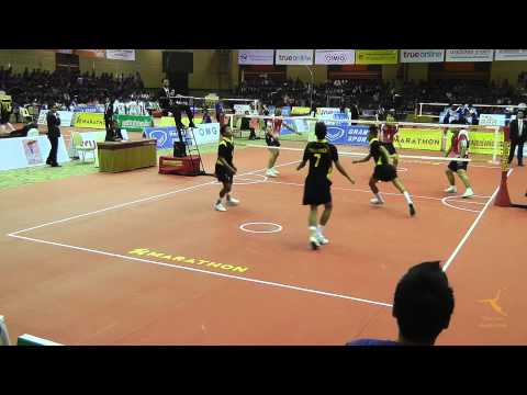 Sepak Takraw King's Cup 2013 - Philippines Vs. China - Regu Grand Final Division 1 video