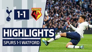 HIGHLIGHTS | SPURS 1-1 WATFORD