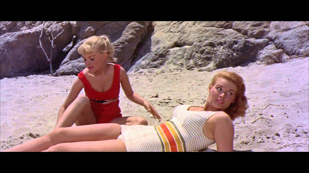 on the beach 1959 trailer