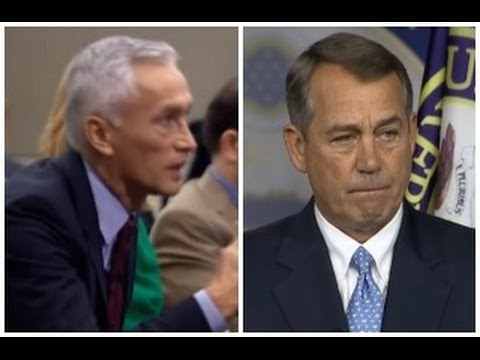 Reporter Jorge Ramos Practices REAL Journalism with John Boehner