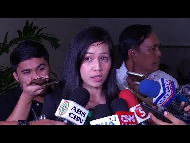Sereno joins calls to probe death threats vs Justice reporteri