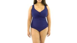 Miraclesuit Plus Size Escape One Piece | SwimOutlet.com