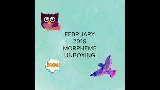 February 2019 MORPHEME BRUSH SUBSCRIPTION