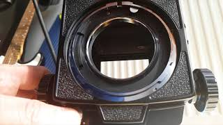 Mamiya RB67 Pro S Massive mirror slap