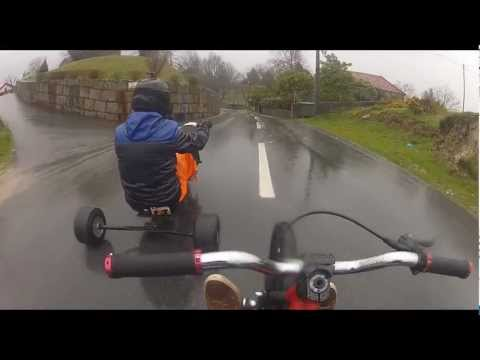 Drift Trike [PAINKILLER] Marco de Canaveses 2013 Crash