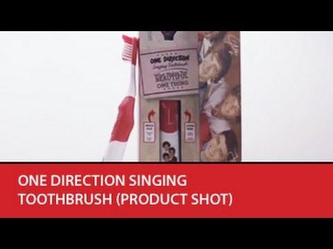 Brush Buddies - One Direction Singing Toothbrush (product shot)