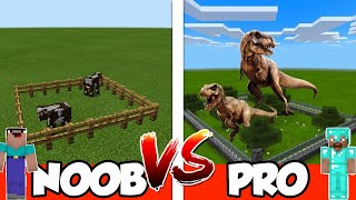 NOOB vs PRO - FARM - in Minecraft PE