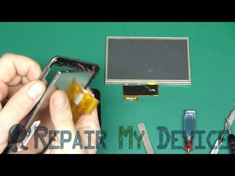 Garmin Nuvi 2460 LCD Screen Replacement, Disassembly instructions