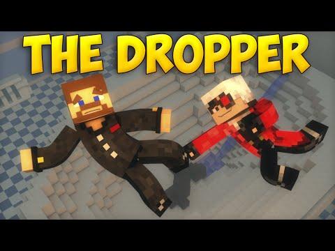 ПРЫЖОК В УНИТАЗ - Minecraft The Dropper