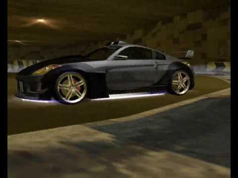 NeeD For SpeeD Underground 2 Nissan 350z Tokyo Drift - YouTube