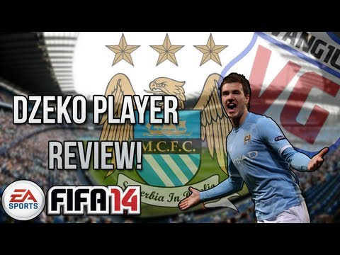 FIFA 14 FUT Edin Dzeko Player Review *83 Rated* | Online Goals [ Ultimate Team ]