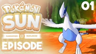 Pokemon Sun Randomizer Nuzlocke Part 1 - LUGIA ALREADY! ( Pokemon Sun and Moon Randomizer Nuzlocke )