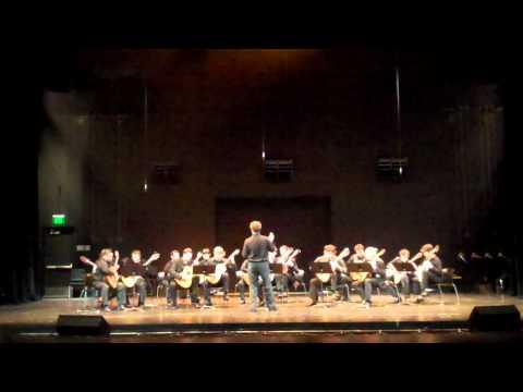 GFA 2nd Regional Symposium in LA - USC Guitar Orchestra Plays Rossini