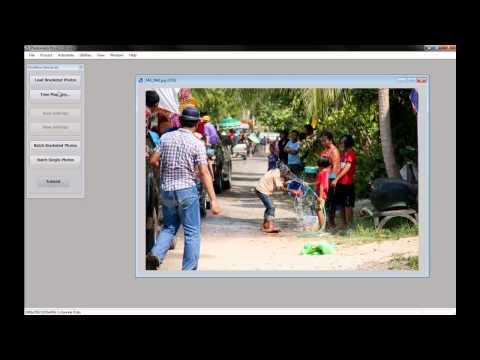 แต่งภาพ HDR ด้วย Photomatix Pro + การติดตั้งโปรแกรม