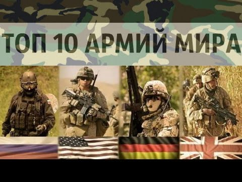 Самые мощные армии в мире