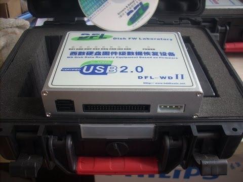 WD HDD Repair Tool Kits DFL-WD: Decryption