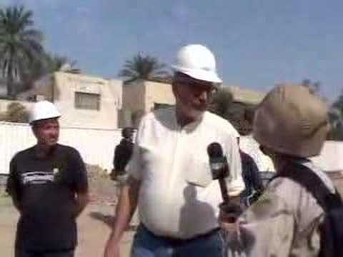 Talking with Heroes in Baghdad, Iraq Clip 2