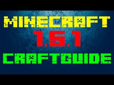 CraftGuide - Mod do Minecraft 1.5.1 (Lepsza wersja Recipe Book ! Wszystkie receptury pod reką)