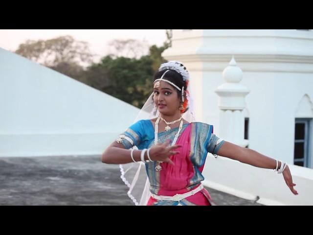'Yehovah na mora'. Bharatanatyam. English subtitles. Hymn No. 16, Andhra Christian Hymns.