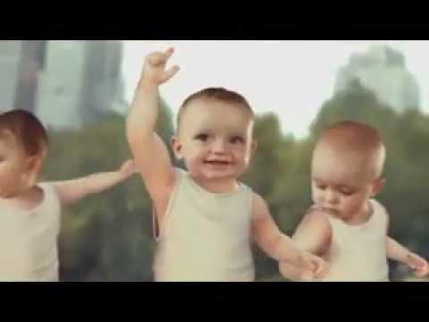 Funny Baby Skaters - Vicces bébik