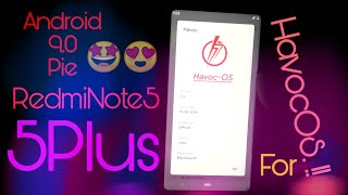 Official Havoc OS for Redmi Note 5/5Plus   Havoc OS for Vince