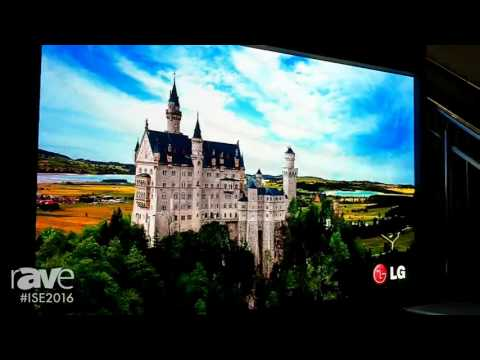 ISE 2016: Unilumin Group Presents Upanel 0.9 LED Display with 1920×1080 Resolution