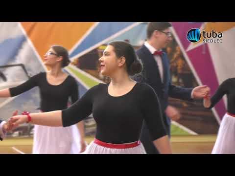 Konkurs Poloneza Studniówkowego w Siedlcach 2018